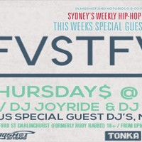 FVSTFWRD 21st March: Sydney's weekly Hip Hop Lounge ft. special guest DJ Libre!