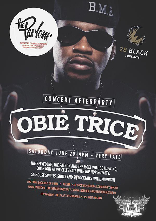 Obie Trice After Party - Parlour